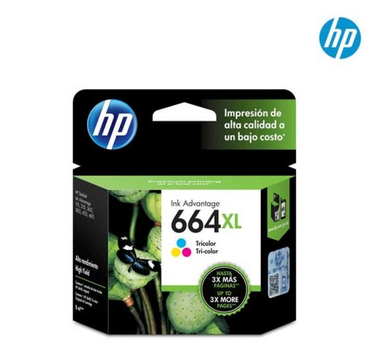 Cartucho HP #664XL color