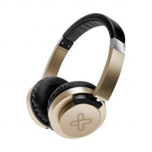 Audifonos Alambricos KHS-851 marca Klip Xtreme color Dorado