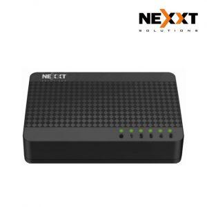 Switch de 5 Puertos 10/100Mbps Naxos 500 Marca Nexxt