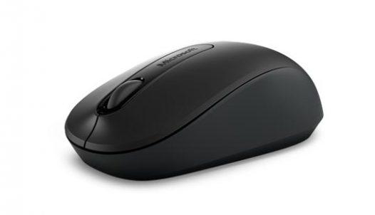 Combo teclado y mouse inalámbrico Microsoft 900 en español color negro