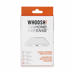 Whoosh protector de pantalla diamond defense