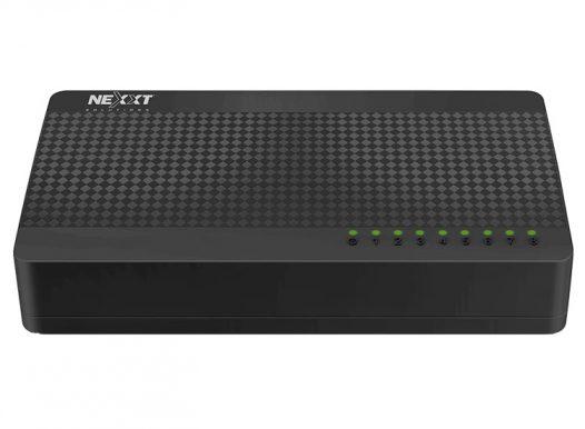 Switch Nexxt Naxos 800 8 puertos 10/100mbs