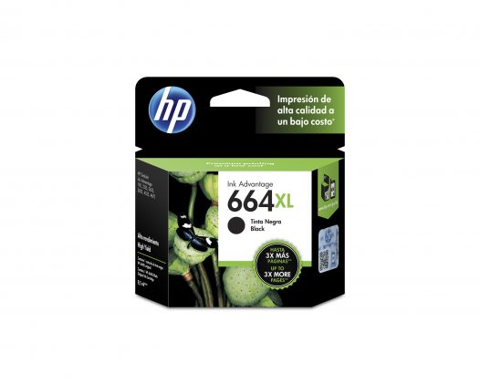 Cartucho Hp 664 xl negro