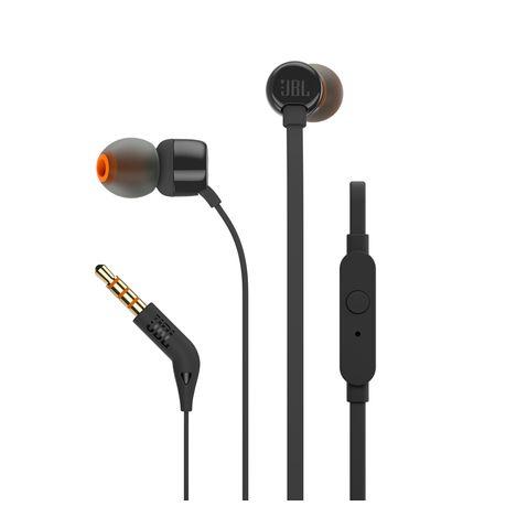 Audifonos JBL T110 con Micrófono color Negro