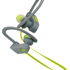 Audifonos Klip Xtreme JogBudz KHS-632 Bluetooth Color Verde con Gris