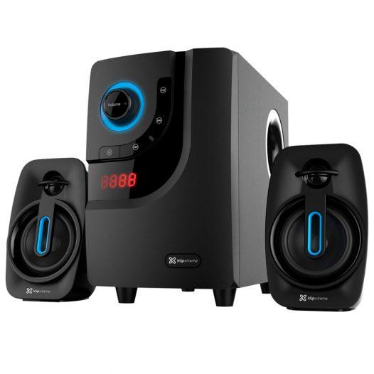 Bocinas para Computadora 2.1 con Bluetooth KWS-616 marca Klip Xtreme color Negro