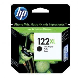 Cartucho HP 122XL Negro Alto rendimiento