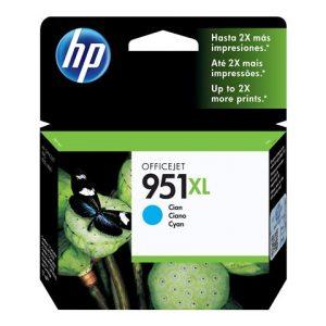 Cartucho HP 951XL Cian Alto Rendimiento