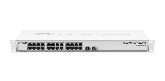 Switch MikroTik Cloud  CSS326-24G-2S+RM