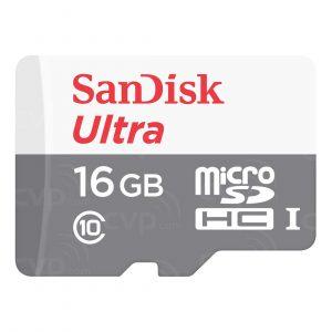Memoria MicroSD SanDisk Ultra 16GB Con Adaptador Clase 10 Para Android