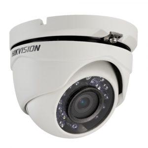 Cámara para Videovigilancia Tipo domo HD 720P 2.8mm marca Hikvision