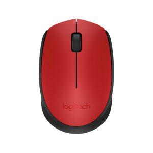 Mouse Inalámbrico M170 color Rojo marca Logitech