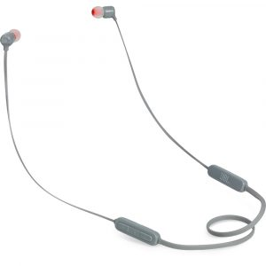 Audifonos Bluetooth JBL T110BT In-Ear color Gris