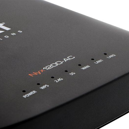 Router Nyx1200 AC1200 Gigabit marca Nexxt