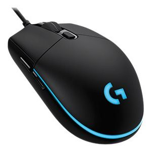 Mouse Alambrico Gaming Logitech Pro Gaming Color Negro