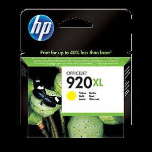Cartucho HP 920XL Amarillo - 6 ml - Alto rendimiento