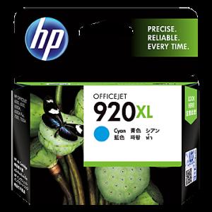Cartucho HP 920XL Cián - 6 ml - Alto rendimiento