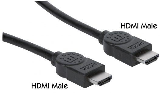 Cable HDMI 3M/10FT MANHATTAN 323222