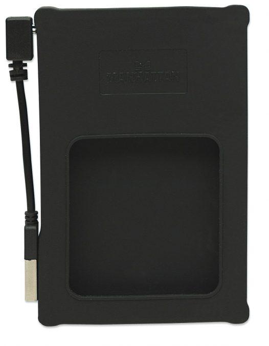 """Gabinete para Disco Duro de Laptop SATA 2.5"""" Silicon Color Negro"""