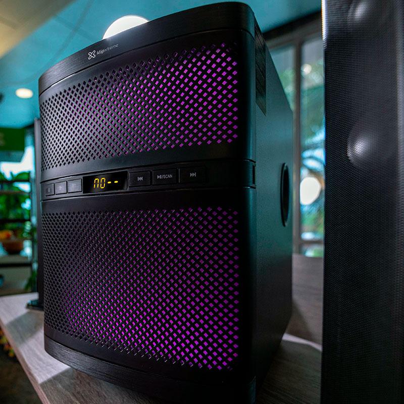Barra de sonido de 2.1 canales con Bluetooth - Kemik Guatemala