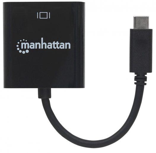 Convertidor USB C a HDMI Manhattan