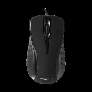 Mouse Argom USB Maxi Negro