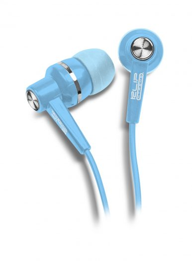 Audifonos Klip Xtreme Stereo / Conector 3.5 Plug-in / Azul