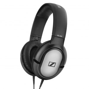 Audifonos Profesionales Over Ear para Estudio marca Sennheiser HD206 color Negro