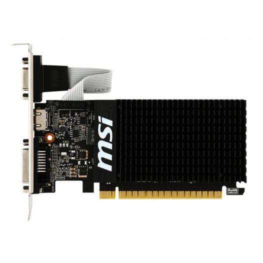 Tarjeta de Vídeo 1GB DDR3 MSI GeForce GT 710 VGA DVI-D HDMI PCIe 2.0
