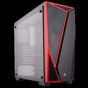 Case Gaming Corsair Carbide Series SPEC-04  Vidrio Templado ATX (Sin Fuente)