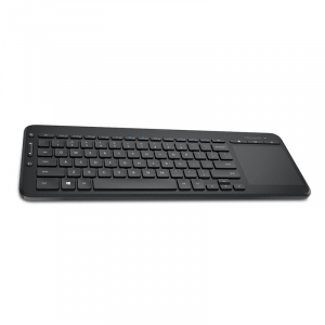 Teclado USB Inalámbrico Microsoft con Trackpad Multitactil color negro
