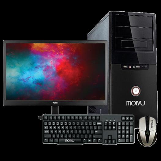 Combo Desktop Molvu PC Basic
