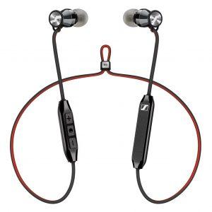 Audífonos Bluetooth Momentum marca Sennheiser HD1 FREE Color Rojo Cromo