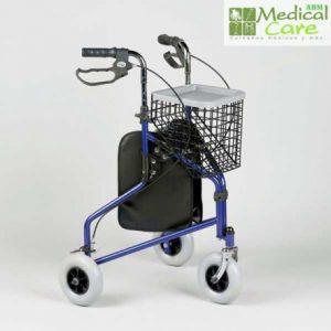 Andador de 3 ruedas Marca Medical Care