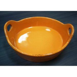 """Tazón de cerámica esmaltado 7""""  Marca Blue Jean Chef"""