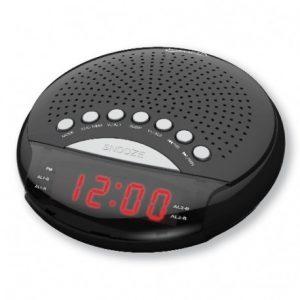 Radio despertador con doble alarma RCA