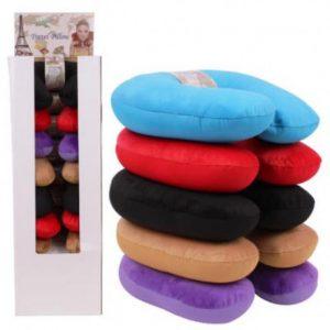 Almohada de viaje para el cuello colores varios