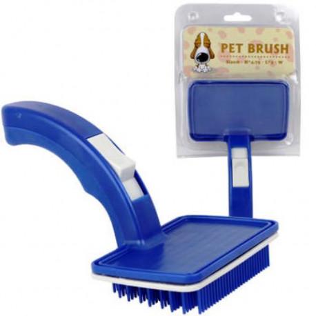 Cepillo para Mascotas Color Azul