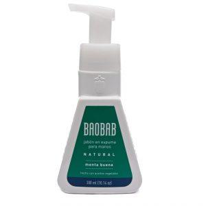 Jabón en Espuma para Manos de Menta Buena marca Baobab