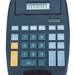Calculadora Tectron Portátil de 8 Dígitos Color Negro