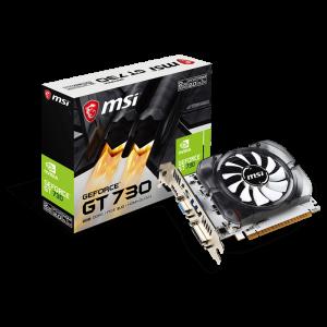 Tarjeta de Vídeo 2GB DDR3 MSI GeForce GT 730