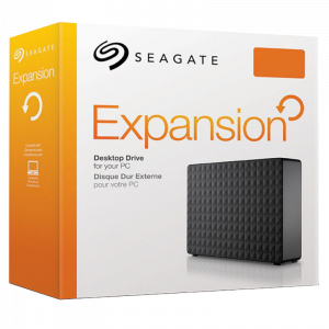 "Disco Duro Externo Seagate Expansion 6TB 3.5"" Color Negro"
