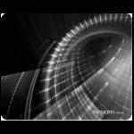 Mousepad Argom Galaxia Negro/Blanco