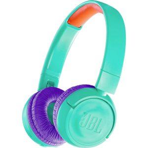 Audifonos Bluetooth para niños JBL JR300BT color Turquesa