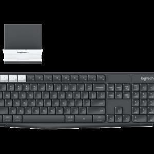 Teclado alámbrico en español color negro Xtech XTK-160S