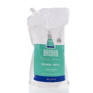 Refill de Jabón en Espuma para Manos de Menta Buena marca Baobab
