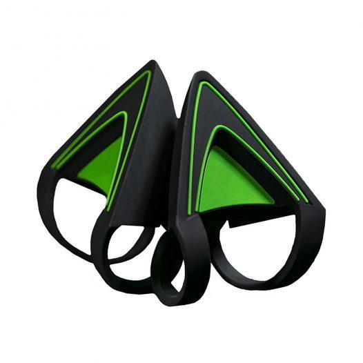 Orejas de Gatito para Audífonos Razer Kraken color Verde Cuarzo