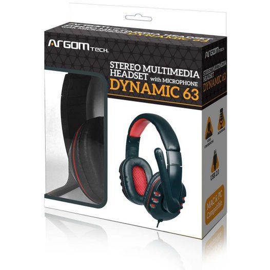 Audifonos argom dynamic 63