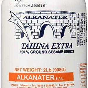 Tahini de ajonjolí Alkanater 2 libras