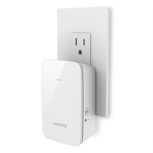 Extensor WiFi de doble banda marca Linksys RE6250 AC750